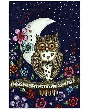 I LOVE OWL 11x17 Poster front