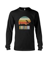 Vintage Mountain Biking Tshirt Gift For Men Boys Long Sleeve Tee thumbnail