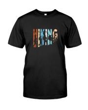 Vintage Hiking Tshirt Gift for Men and Women Classic T-Shirt thumbnail