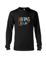 Vintage Hiking Tshirt Gift for Men and Women Long Sleeve Tee thumbnail