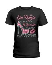 8 November  Ladies T-Shirt front