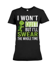 RUNNING OUTFITS 1 Premium Fit Ladies Tee thumbnail