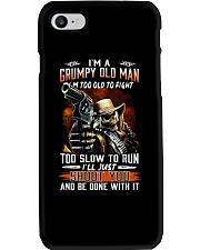 Grumpy old man LHA Phone Case thumbnail