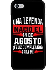 14 DE AGOSTO Phone Case tile