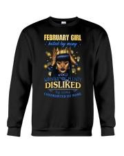 FEBRUARY GIRL Crewneck Sweatshirt thumbnail