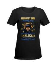 FEBRUARY GIRL Ladies T-Shirt women-premium-crewneck-shirt-front