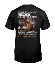H- AUGUST MAN Classic T-Shirt back