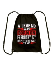 February Man Drawstring Bag thumbnail