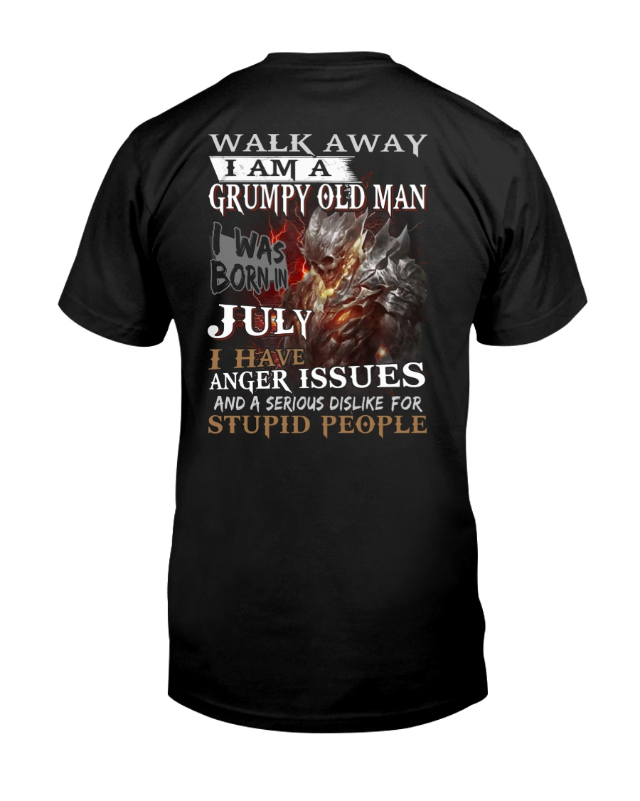 H- Grumpy old  man printing graphic tees Classic T-Shirt