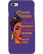 NOVEMBER WOMAN - STRONG Phone Case thumbnail