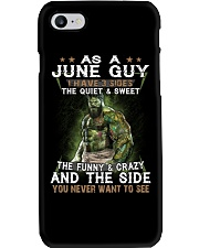 H- JUNE GUY Phone Case thumbnail