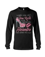 Camisetas sublimadas mujer reinas de Diciembre Long Sleeve Tee thumbnail
