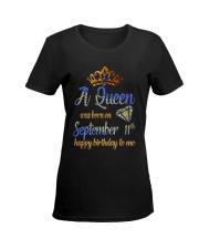 11 September Ladies T-Shirt women-premium-crewneck-shirt-front