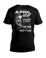 H- APRIL GUY V-Neck T-Shirt thumbnail