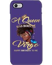 A Queen Was Born As Virgo Phone Case thumbnail