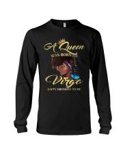 A Queen Was Born As Virgo Long Sleeve Tee thumbnail