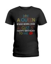 5 August Ladies T-Shirt front