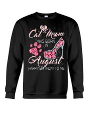 AUGUST CAT MOM Crewneck Sweatshirt thumbnail