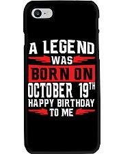 19th October Legend Phone Case thumbnail