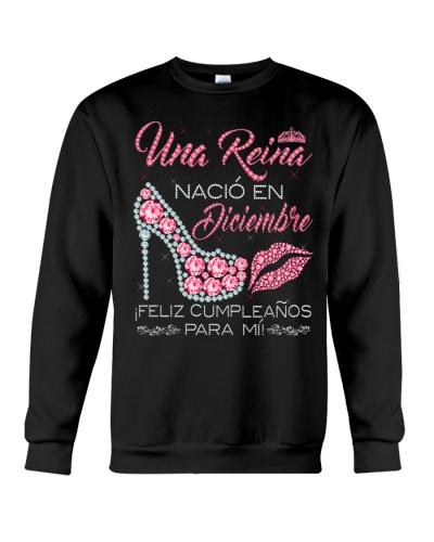 Camisetas sublimadas mujer reinas de diciembre