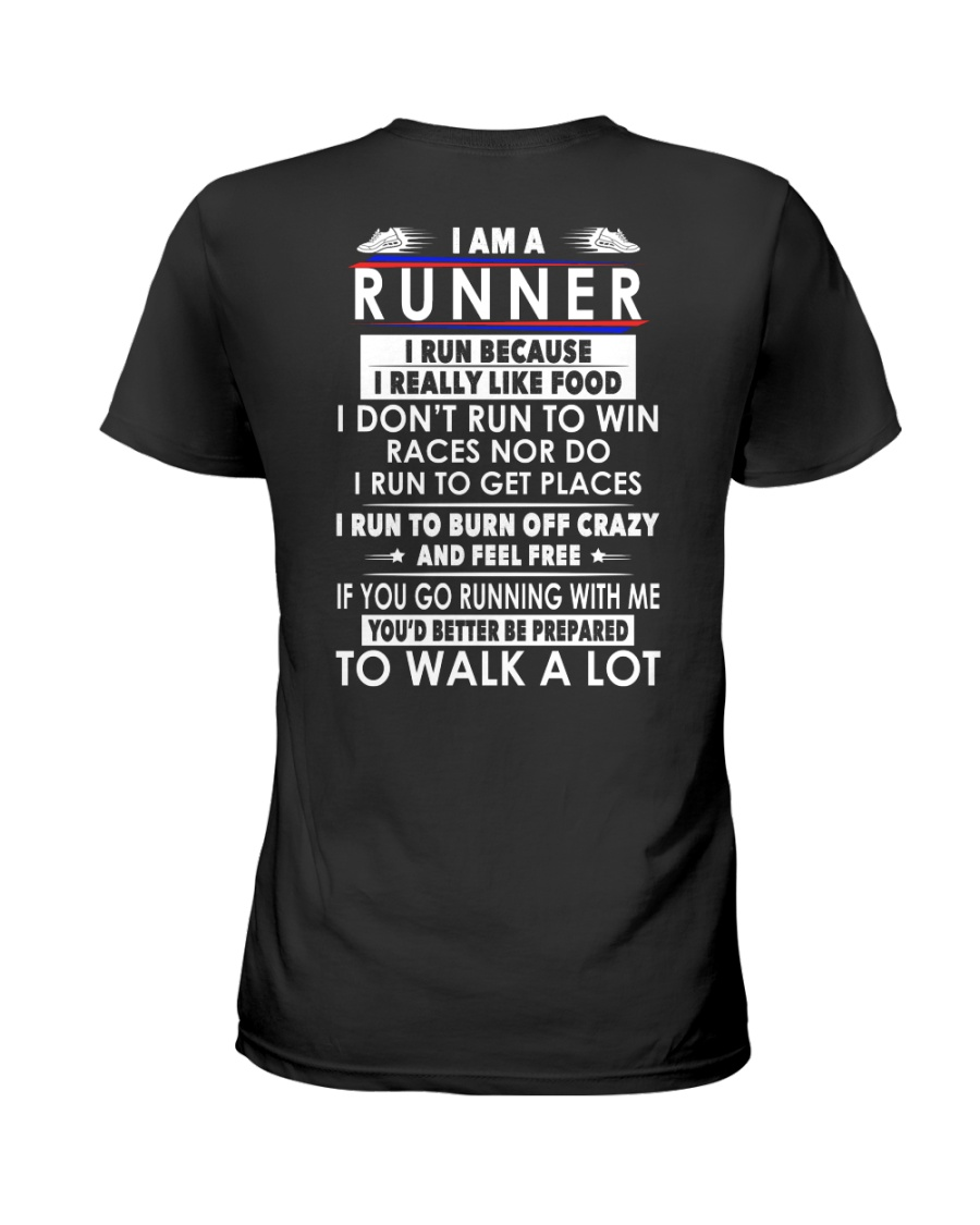 H- RUNNER  Ladies T-Shirt
