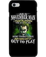 Birthday shirt design for November boys men Phone Case thumbnail