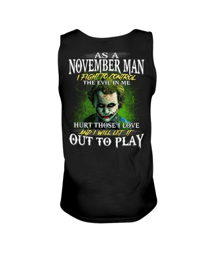 Birthday shirt design for November boys men
