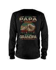 Best printing graphic tee shirt design for grandpa Long Sleeve Tee thumbnail
