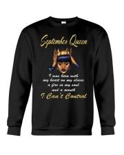 September Queen Control1 Crewneck Sweatshirt thumbnail