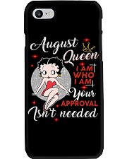 H- AUGUST QUEEN Phone Case tile