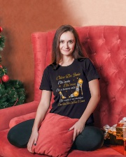 june-ellashoes Ladies T-Shirt lifestyle-holiday-womenscrewneck-front-2