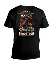 H- MARCH MAN V-Neck T-Shirt thumbnail