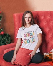 GRANDMA SIXTIES Ladies T-Shirt lifestyle-holiday-womenscrewneck-front-2
