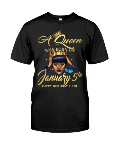 A QUEEN JANUARY