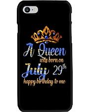 July 29th Phone Case thumbnail