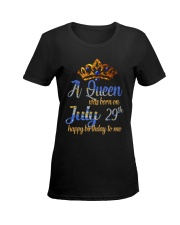 July 29th Ladies T-Shirt women-premium-crewneck-shirt-front