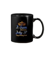 July 29th Mug thumbnail