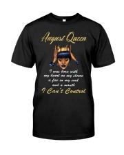 August Queen Control1 Classic T-Shirt thumbnail