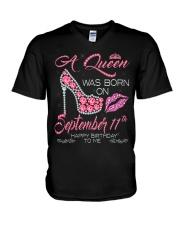SEPTEMBER 11 V-Neck T-Shirt thumbnail