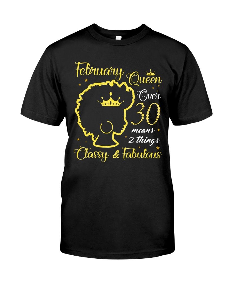 A QUEEN FEBRUARY Classic T-Shirt