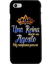 Una Reina  Agosto Phone Case thumbnail