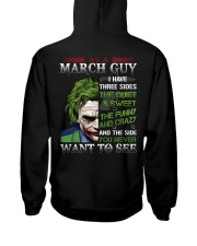 H- MARCH GUY Hooded Sweatshirt back