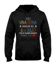 6 de Julio Hooded Sweatshirt thumbnail
