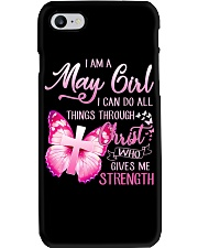 H- MAY GIRL Phone Case tile