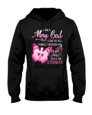 H- MAY GIRL Hooded Sweatshirt thumbnail