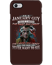 H-January T shirt Printing Birthday shirts for Men Phone Case thumbnail