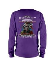 H-January T shirt Printing Birthday shirts for Men Long Sleeve Tee thumbnail