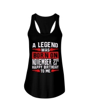 23rd November Legend Ladies Flowy Tank thumbnail