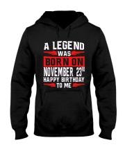 23rd November Legend Hooded Sweatshirt thumbnail