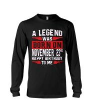 23rd November Legend Long Sleeve Tee thumbnail